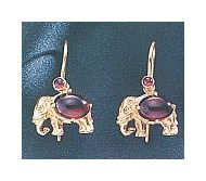 Andhra Elephant Earrings