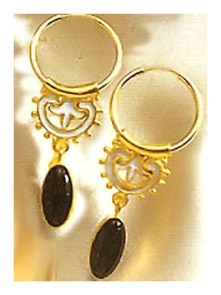 Umbria Onyx Earrings