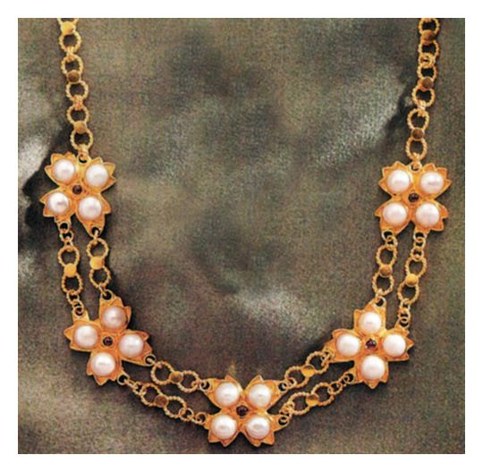 Josephine Pearl Necklace