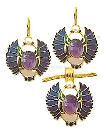 Farafra Scarab Necklace