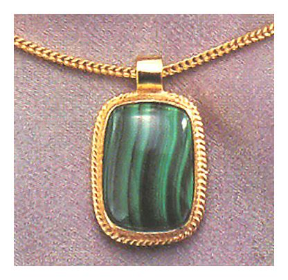 Middle Kingdom Malachite Necklace
