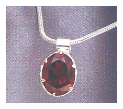 Gwyneth Garnet Necklace
