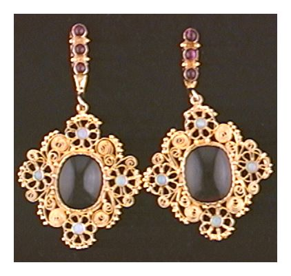 Marquessa Of Rockingham Earrings-Screw Backs