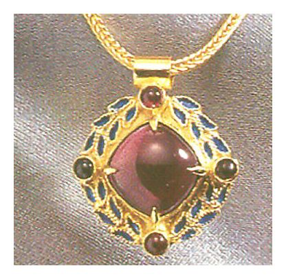 Heloise Garnet Necklace