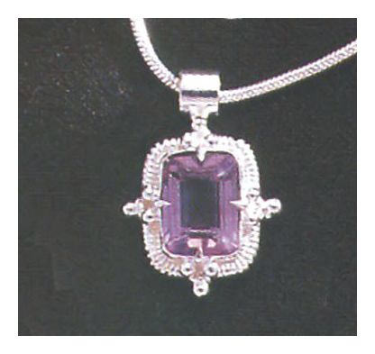 Amy Amiable Amethyst Necklace