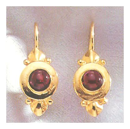 Ostia Garnet Earrings
