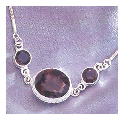 Felicity Fairchild Smoky Topaz Necklace