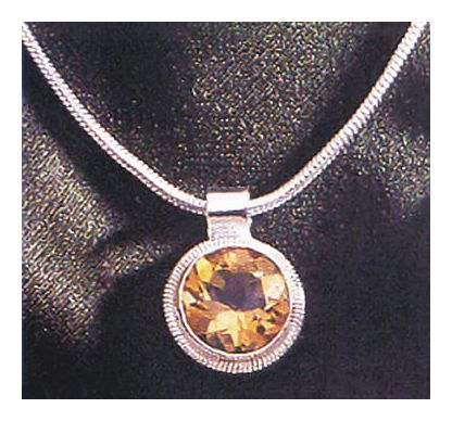 Cadiz Citrine Necklace