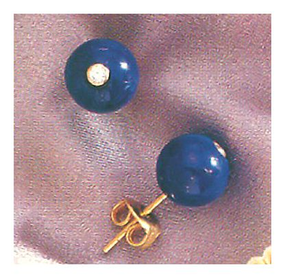 Gibraltar Lapis Earrings