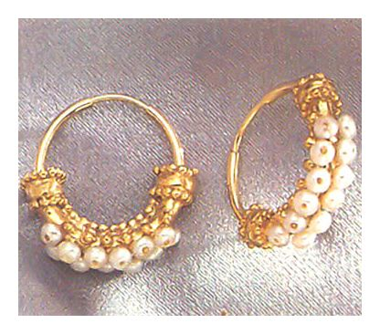 Pearl Gypsy Earrings