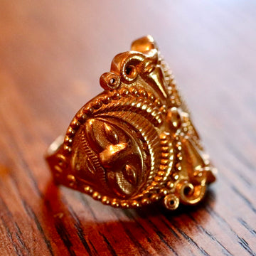 Splendor of the Celts Ring - Brass - Size 5