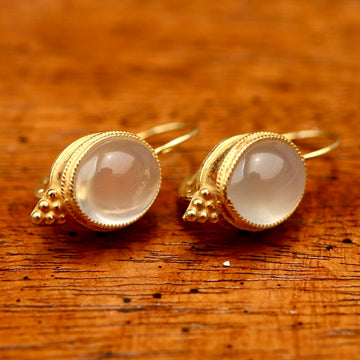 Moonstone Rendezvous Earrings