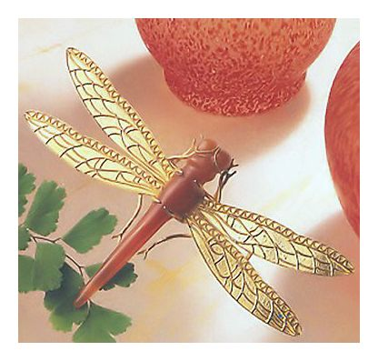 Fair Weather Dragonfly Pin