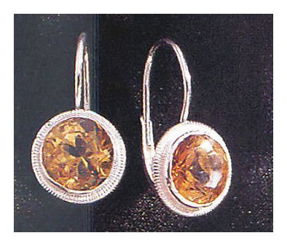Cadiz Citrine Earrings