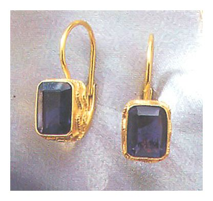 Iolanthe Iolite Earrings