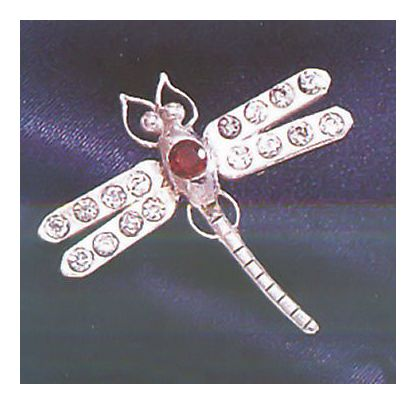 Delphine Dragonfly Pin