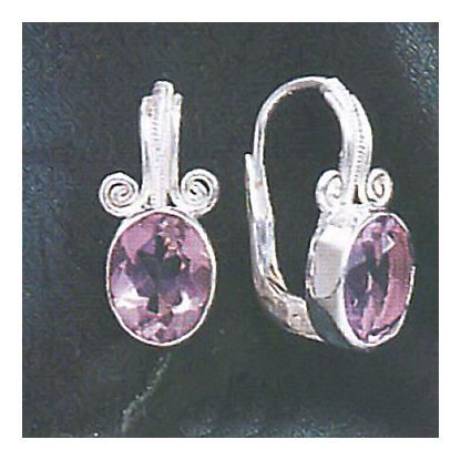 Theodora Amethyst Earrings