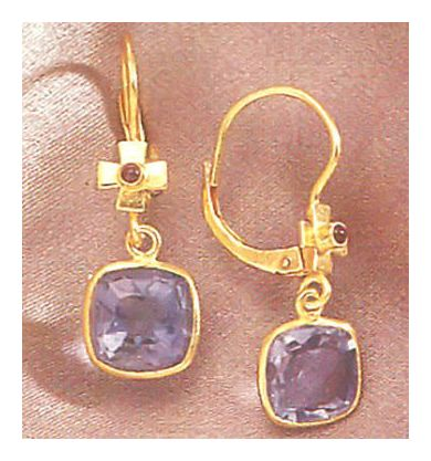 Santa Lucia Iolite Earrings