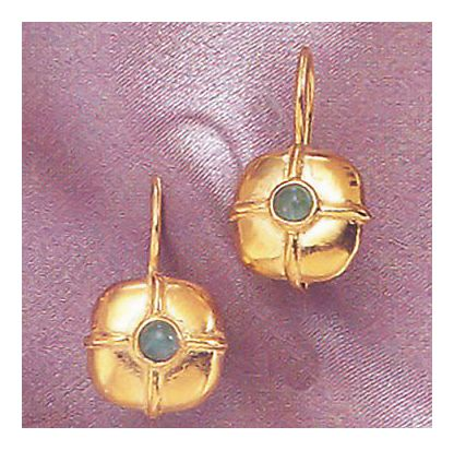 Electra Emerald Earrings