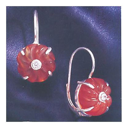 Majorca Carnelian Earrings