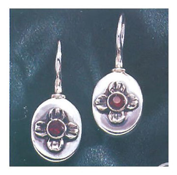 Aphrodite Garnet Earrings