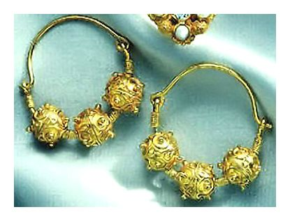 Nishapur Bead Earrings