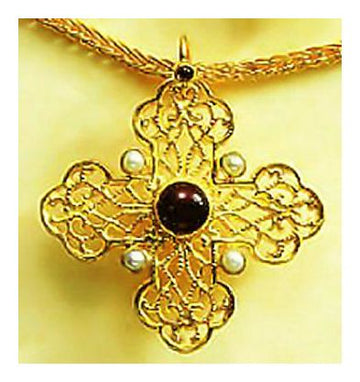 Byzantine Cross Necklace