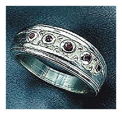 City Lights Silver Ring
