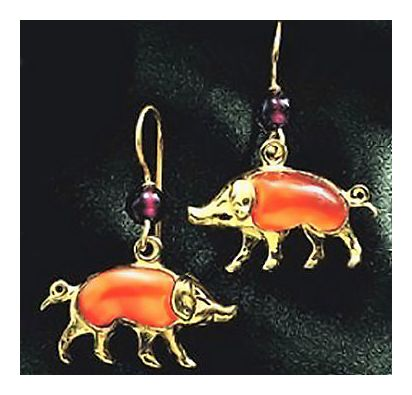 Le Petit Cochon Earrings