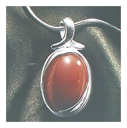 Autumn Light Carnelian Necklace
