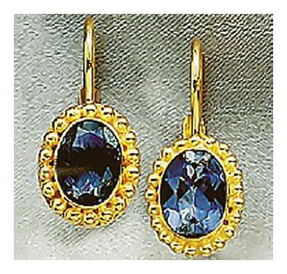 Symphony Iolite Earrings