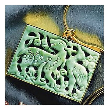 Jade Forest Pendant