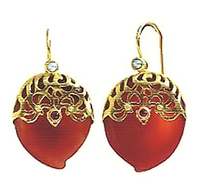 Royal Down Earrings