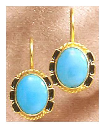 Taos Turquoise Earrings