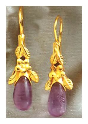 Antoinette Ardor Amethyst Earrings
