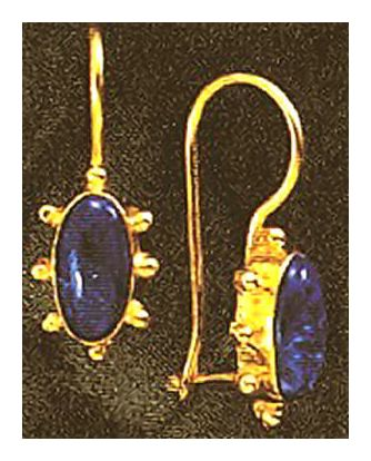 Metropolitan Blues Lapis Earrings
