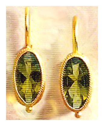 Prudence Pureheart Peridot Earrings