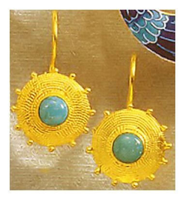 Sultana Turquoise Earrings