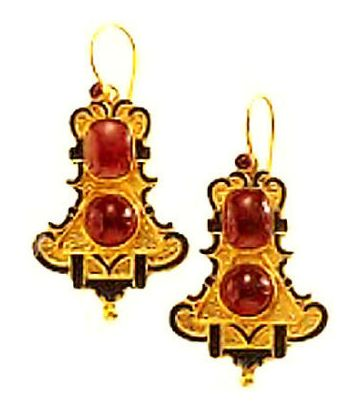 Bell and Cross Earrings