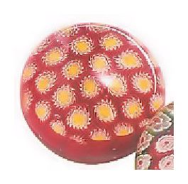 Party Party Paperweights Red and Yellow