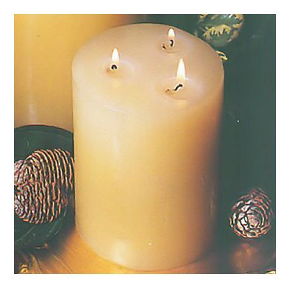 Sunrise Holiday Short Column Candle
