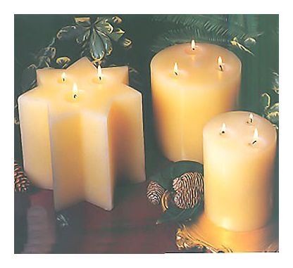 Set of Sunrise Holiday Candles