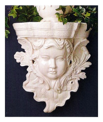 Pair of Renaissance Cherub Sconce