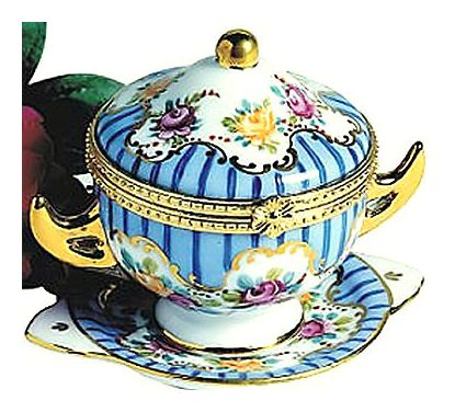 Blue Teacup Box