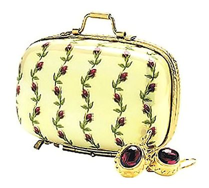 Rambling Rose Suitcase Box