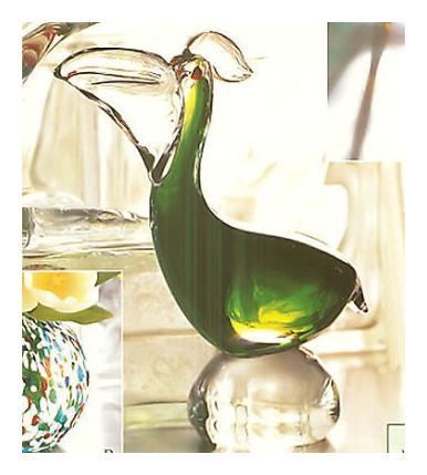 Hand Blown Glass Pelican