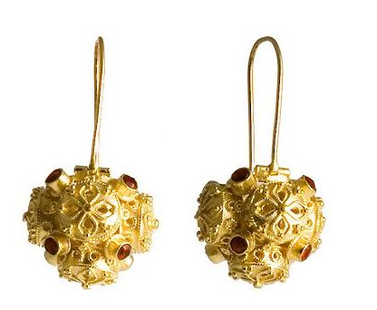 Shiraz Garnet Earrings