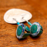 "Vintage Laurel Burch ""Pod"" Earrings"