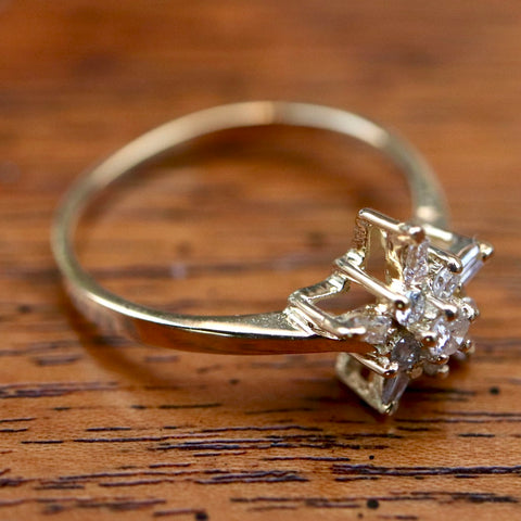 Helen of Troy Diamond Ring