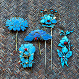 Antique Tian-Tsui (點翠) Hair Pins